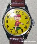 Charlie Brown on baseball mound Watch