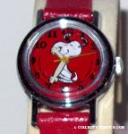 Snoopy dancing on Red Face & Band