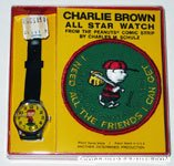 Charlie Brown Baseball Watch with Patch