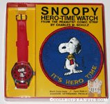 Red Dancing Snoopy Watch with Patch