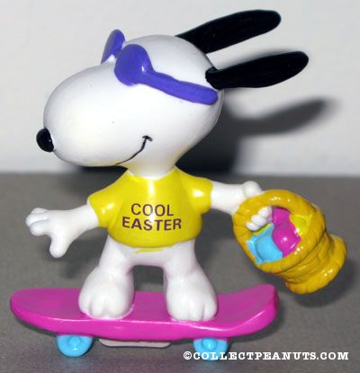 Snoopy Riding A Skateboard