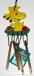 Woodstock with Flowers Windchime