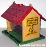 Woodstock 'Take a bird to lunch' Bird House