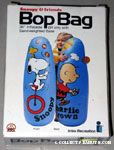 Snoopy juggling & Charlie Brown flying kite Bop Bag