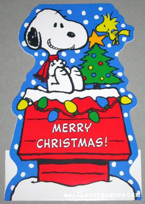 snoopy and woodstock - Snoopy Merry Christmas Images