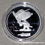 Baseball Snoopy Batting