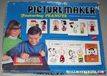 Peanuts Gang Picture Maker with Stencils