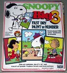 Snoopy Big 3 Paint by Number - Lucy, Snoopy & Beaglescouts, Linus