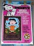 Snoopy's Wood Painting - Lucy 'To know me is to love me