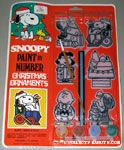 Peanuts & Snoopy Painted Ornament Kits