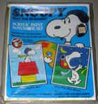 Snoopy Acrylic Paint by Number Set - The Flying Ace & The Red Baron