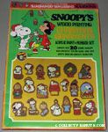 Snoopy's Wood Painting Christmas Ornaments