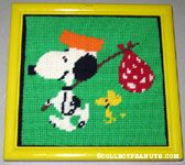 Peanuts & Snoopy Needlepoint Kits