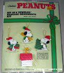 Snoopy & Woodstock Jeweled Felt Ornament Kit