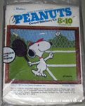 Snoopy playing tennis Crewel Stitchery Kit
