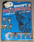 Snoopy Sun Catcher Kit - Snoopy & Woodstock with Balloons & Party Hats