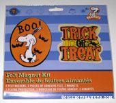 Snoopy Halloween Felt Magnet Kit