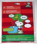 Santa Snoopy & Woodstock Christmas Foam Character