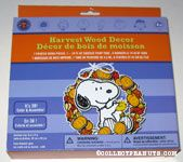 Snoopy & Woodstock Leaf Wreath Hearvest Wood Decor