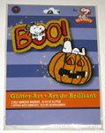Snoopy Halloween Glitter Art Kit