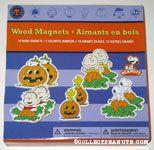 Peanuts Halloween Wood Magnets