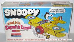 Snoopy and his Sopwith Camel Snap Tite Model Kit