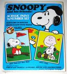 Snoopy & Woodstock Acrylic painting set - Rah for our Side and Pals