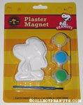 Woodstock wearing hat Plaster Magnet Painting Kit