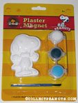 Snoopy wearing bowtie Plaster Magnet Painting Kit