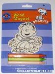 Linus Pumpkin Patch Wood Magnet Kit