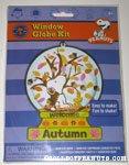 Snoopy & Woodstock Autumn Window Globe Kit