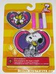 Snoopy hugging Woodstock with hearts Suncatcher kit