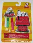 Snoopy on doghouse & Woodstock in dogdish Suncatcher kit