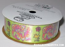 Woodstock Peace & Love Ribbon