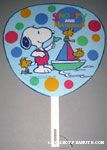 Snoopy & Woodstocks with sailboat Fan