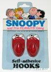 Snoopy Self-adhesive Hooks