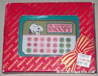 Snoopy laughing calculator design Paperweight