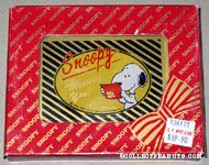 Snoopy reading letter 'Missing You' Paperweight