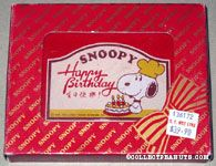 Snoopy chef with cake 'Happy Birthday' Paperweight