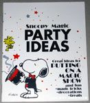 Peanuts & Snoopy Party Idea Books
