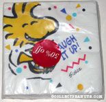 Woodstock laughing 'Laugh it Up' Napkins