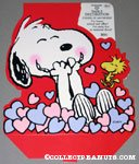 Snoopy and Woodstock with hearts table Decoration