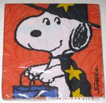 Snoopy in costume Halloween Napkins