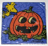 Woodstock with pumpkin Halloween Napkins