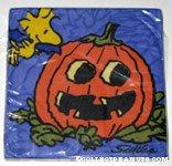 Woodstock with pumpkin Halloween Napkins
