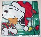 Snoopy & Woodstock Christmas Napkins