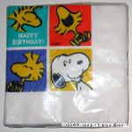 Snoopy and Woodstock in squares