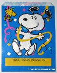 Peanuts & Snoopy Party Treat Sacks