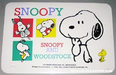 Snoopy & Woodstock scenes Placemat