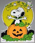 Peanuts & Snoopy Halloween Decorations